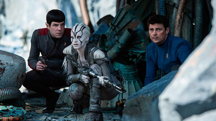 Star Trek Beyond (2016) PG 122mins Sci-Fi-Movies