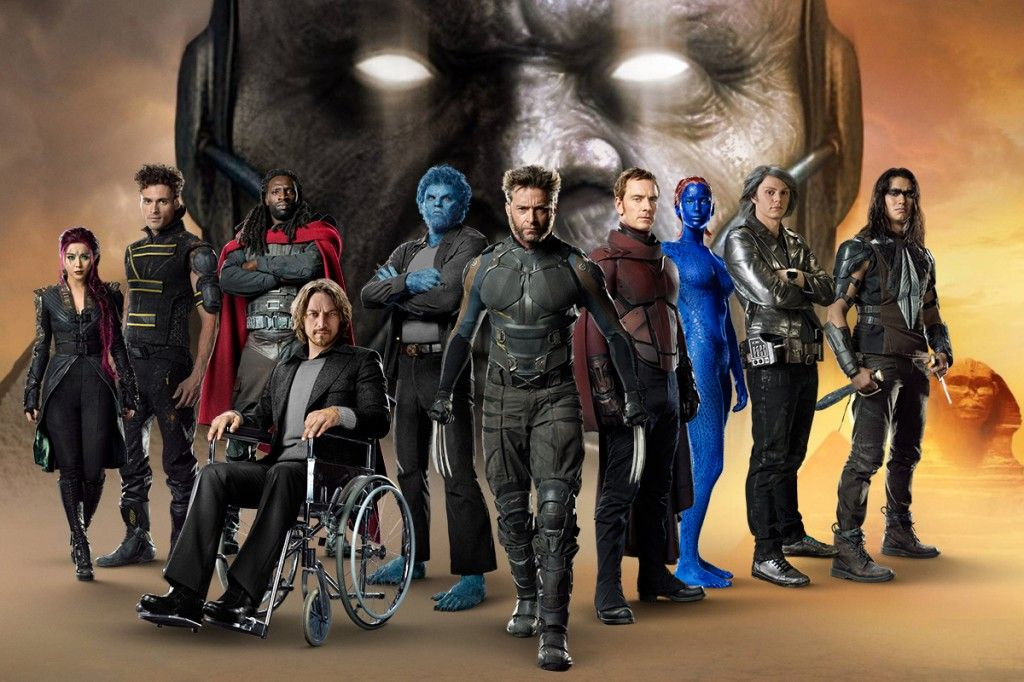 X-Men: Apocalypse (2016) PG 144mins Action-Movies | The